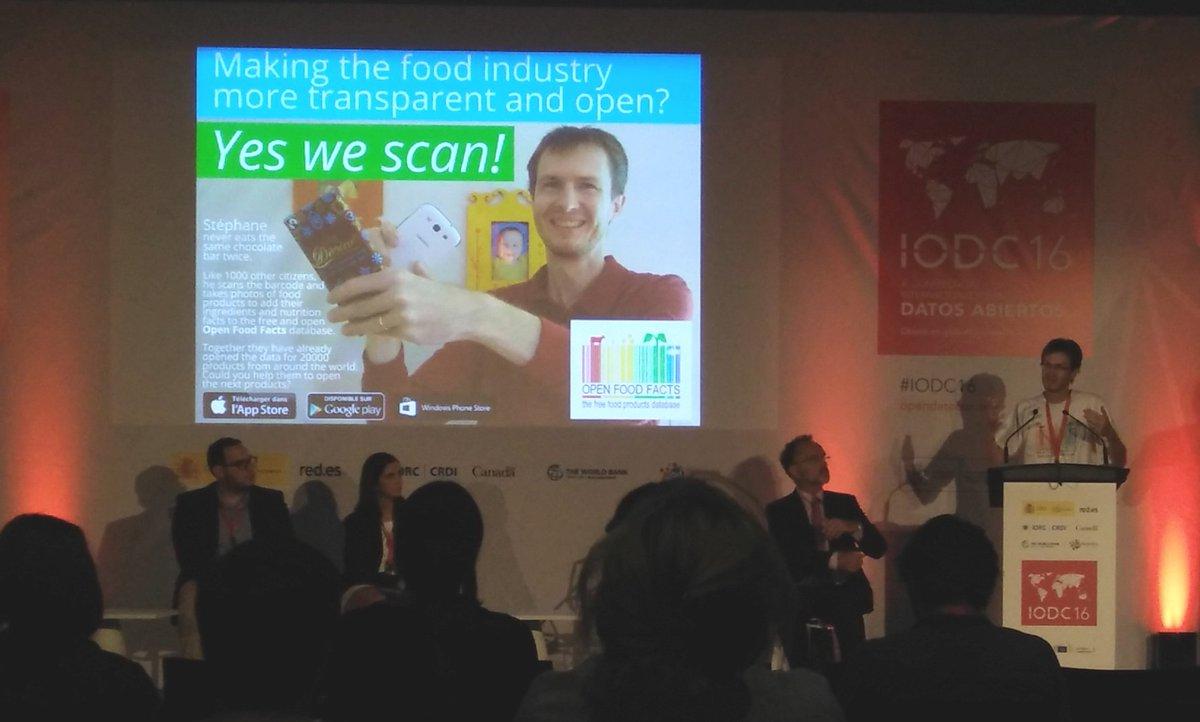 Presentando en el foro IODC