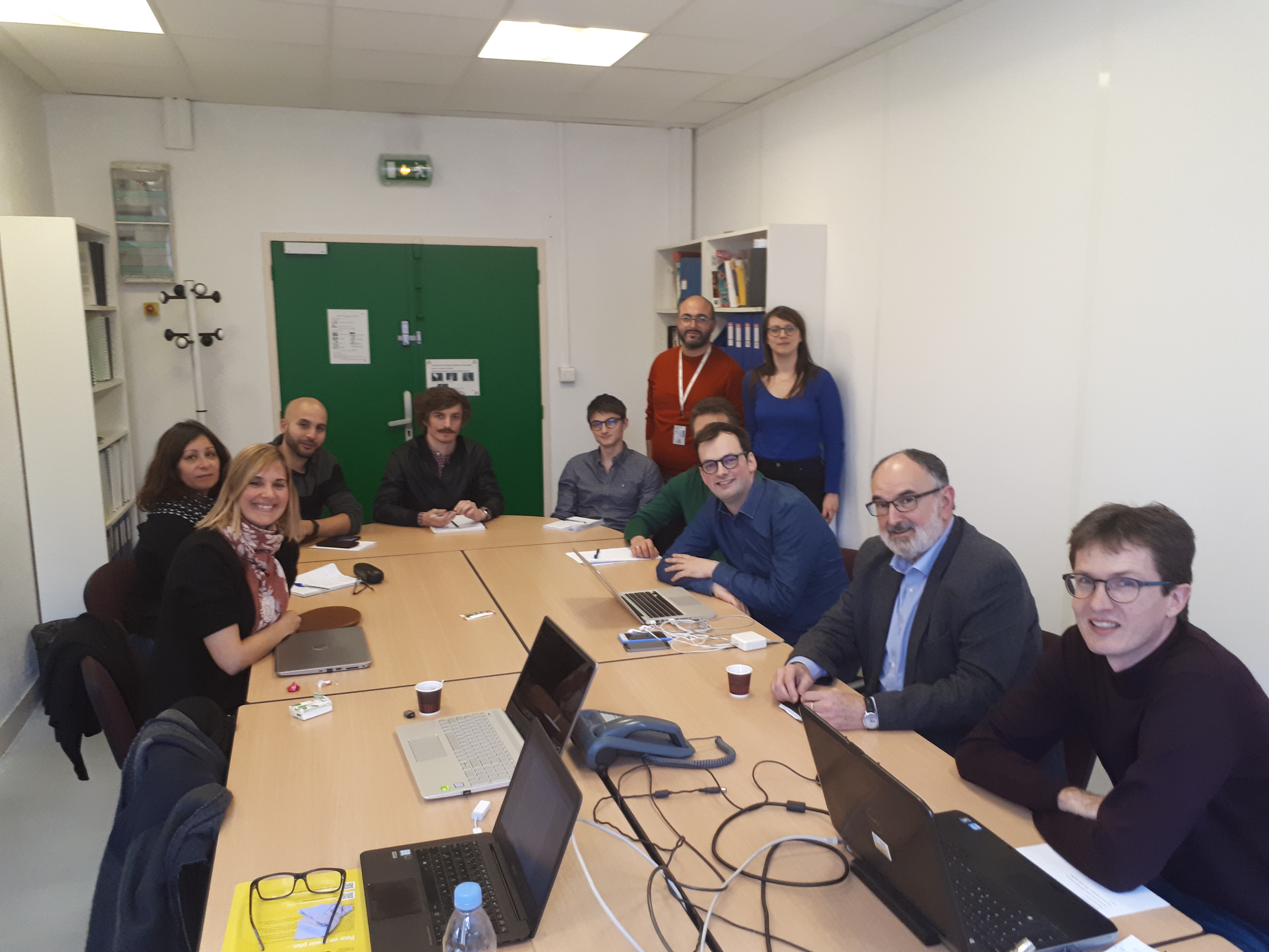 The Open Food Facts team meeting the EREN research team
