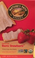 Frosted Berry Strawberry Toaster Pastries - Product