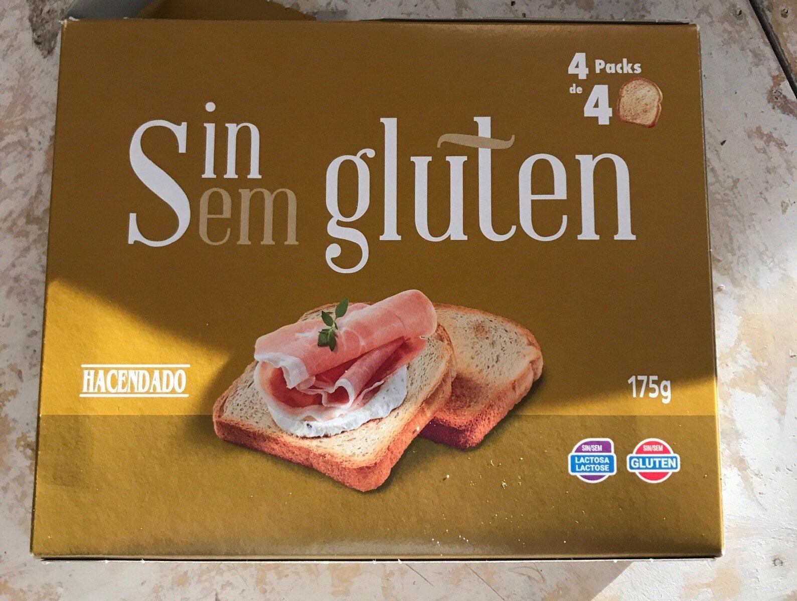 Pan Tostado Sin Gluten Hacendado 175 G